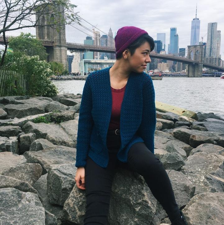 Cardigan Sencillo Patrón de Crochet – EnEspañol